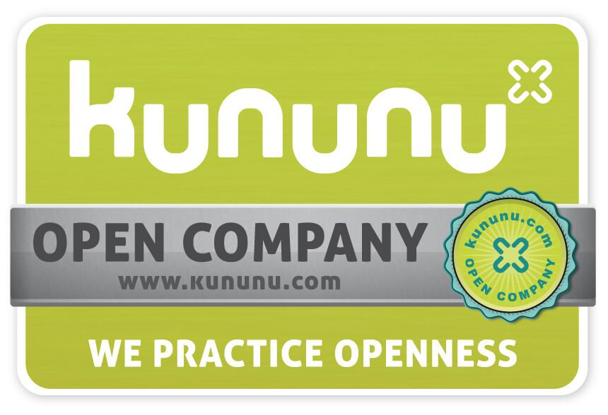 Taros is the proud bearer of the kununu OPEN COMPANY seal of approval